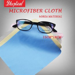 Wholesale Microfiber Logo - Free shipping eyeglasses cleaning cloth ,100pcs,15cm*18cm Microfiber cloth 180GSM,very soft,Welcome Print LOGO mix color