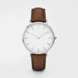 Wholesale Leather Gagged - Fashion Brand Leather Strap Watches Women Dress Watch Relogio Ladies Wristwatches Clocks Designer Ladies Gift TOP Quartz Watches Reloj GAG