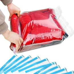 Wholesale Roll Up Storage Bags - 10Pack Space Saver Roll-up Storage Bags For Travel 40*60cm Free Shipping