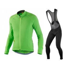 Wholesale Men Apparels - Best sale 2015 male Cycling Apparels Long Sleeve Jersey Cycling Bib pants Autumn garments racing sports wear Jersey and Bib pants long suits