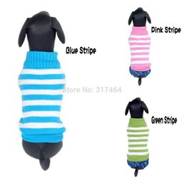 Wholesale xs dog sweaters - Wholesale-NEW HOT Cheap NEW 3 Color DOG Sweater Pet Sweater Dog Pet Jumper For Small Dogs Sz XS S M L XLWholesale retail Free Shipping