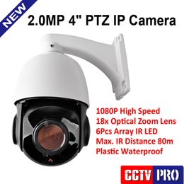 Wholesale Outdoor Mini High Speed Ptz - Mini 4Inch 1080P High Speed PTZ 2MP IP Camera Outdoor Waterproof IP66 18X Optical Zoom IR 80m Support Mobile P2P View