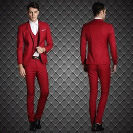 Discount Navy Blue Suit Red Ties Navy Blue Suit Red Ties 2019 On