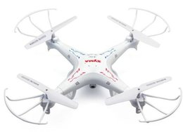 Wholesale Led Copters Wholesale - RC Helicopter Syma X5C X5C-1 Quadcopter 2.4G 6 Axis GYRO UFO 2 Mega Pixel Drone With HD Camera 360 Degrees LED Radio Control Quad Copter Toy