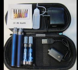 Le prix de détail, CE4 1100 mah double stylos EGOTCE4 Kit double 1.6ml atomiseur cigarette électronique EGO-t 650 mah 900MAH 1100 MAH Starter Kit ? partir de fabricateur