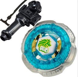 Wholesale Kids Rocking - Rock Leone 145WB Metal Fusion Fight 4D Beyblade BB-30 Beyblade For Sale + Beyblade Launcher