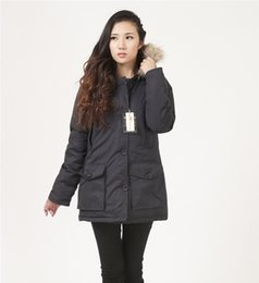 Wholesale Oversized Fur Collar - Women Down Jackets woo1rich winter jacket Lady's jacket thick warm breathable comfortable oversized wolf fur collar