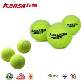 Wholesale Used Play - Kansa-0497 Outdoor Using Customized Logo Best Tennis Ball Puppy Tennis Ball Thrower Chucker Launcher Play Toy Outdoor Sports Tennis Balls