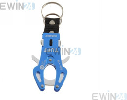Wholesale Ice Lock - Tiger Head Carabiner Hiking Camp Spring Clip Lock Hook Buckle Keychain Keyring Aluminium alloy keyring Buckle