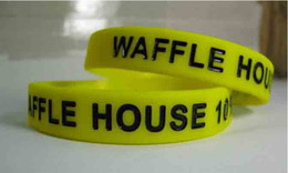 Wholesale Wholesale Wristbands For Events - Custom Silicone Wristbands 12mm Wide 1 Color Filled Debossed Texts & Logo Custom Silicone Bracelet For Events & Gift