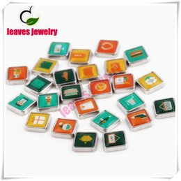 Wholesale Food Photos - Free shipping Hot sell Wholesale mix style Floating Locket Charms food,Drink fit living memory photo locket with glass