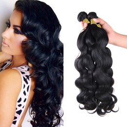 Wholesale modern hair show - Brazilian Body Wave Weave Brazilian Virgin Hair 4pcs Lot Isabel Hair 300 400g Natural Rosa Beauty Hair Product Modern Show Hair Soft