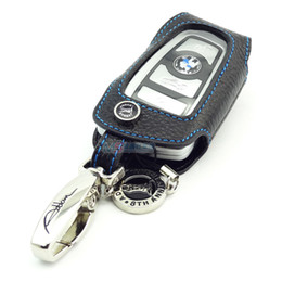 Wholesale m4 car - Genuine Leather Key Case for BMW X3 X4 M3 M4 M5 M6 118i 328i 235i 435i 528i GT 640i 740LI ADDAN car accessories