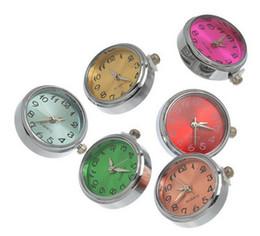 Ver trozos online-NOOSA 12 colores reloj noosa Charms trozos individuales Botón de jengibre encaje 25x11mm joyería intercambiable