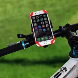 Carregador de telefone de bicicleta on-line-Faixa universal do suporte da montagem do guiador da bicicleta do CARRO da motocicleta do carro para o GPS do telemóvel