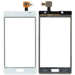 Wholesale Optimus L7 - New Touch Screen Digitizer Replacement For LG Optimus L7 P700 Touch Screen Digitizer White Free shipping B0240