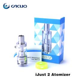 Wholesale Same Original - Eleaf iJust 2 Atomizer 100% original Eleaf iJust 2 Atomizer 5.5ML Eleaf Ijust 2 sub ohm tank Same Tank In Ijust2 Kit