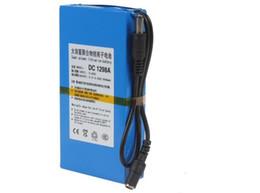 Wholesale Battery Medical - Hot UK Rechargeable Li-po Battery DC 12V 6800mAh batteries Pack for CCTV Cam, LED lighting, PDA Medical Equipment Toy GPS US EU Plug Avail