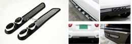 Etiqueta engomada de la defensa del flujo de aire del coche online-Envío gratis 2x Universal Calcomanía Del Coche Auto Vent Flow Flow Fender Pegatina Decorativa auto Tubo de Escape Decoración tail Car Decals