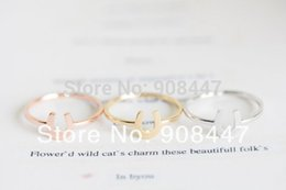 Wholesale Wholesalers For Cool Shoes - 10 PCS lot-R36 Hot Horse Shoes Rings Adjustable Knuckle Cool Rings For Women