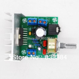 Wholesale Tda7297 Amplifier - 15W+15W TDA7297 Rev B dual Channel Amplifier Board AC DC 12V No noise High Power Free shipping