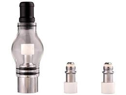 Canada attachement de globe en verre populaire de l'atomiseur ampoule de verre en verre de Pyrex pour eGo t batterie E cigarettes E Cig Dry Herb Wax Vaporizer Offre
