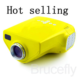 Wholesale Lcd Projector Hdmi Port - Mini AV LCD LED Digital Projector VGA A V USB & SD with HDMI mini Projector Free ship0p With HDMI,VGA,AV,EF Port