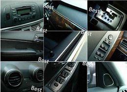 Wholesale Chrome Side Moulding - Free Shipping 5m X 20mm Car Chrome Trim Strip Bumper Air Vent Grille Switch Side Door Edge Window Frame Moulding Fender Trunk M26690