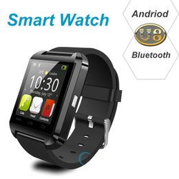 Wholesale Function Smartphone - NEW Smart watch U8 Bluetooth fashion smartWatch For iPhone Samsung Smartphone Sport Wristwatch With Remote Taking Photo Function JBD-U8