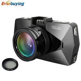 Wholesale Car Dvr Ambarella Gps - A7810 Car DVR Camera Ambarella A7LA70 Dash Cam 1296P GPS Logger LDWS Video Recorder With Polarizer Filters Registrar DVRs