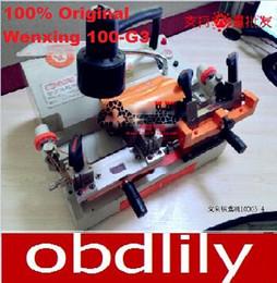 Máquina de corte universal online-Máquina de corte multifuncional de cuatro llaves Wenxing 100-G3, 100% original y cuatro llaves giratorias de sujeción universal