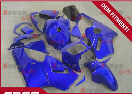 Wholesale Kawasaki Ninja Blue Paint - Full custom painted bright blue pattern of cool injection molding fairing Kawasaki Ninja ZX12R 2000-2001 27