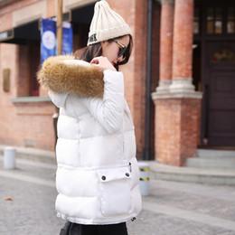 Wholesale Korean Girl Down Jacket - Wholesale-Free shipping brand down jackets women clothes fur coat brand plus size 4xl 3XL XXL 2015 new winter jacket yrf Korean Girls long