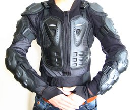 Wholesale Motocross Chest Protection - 2016 new arrive Motocross Motorcycle Full Body Armor Jacket Spine Chest Protection Gear Size S to 3XL