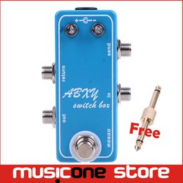 Wholesale Guitar Loop - Super Mini Loops   Guitar Effect Pedal Looper Switcher Free Shipping New Free shipping MU0378