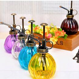 Regaderas para jardinería online-Nuevo diseño decorativo de riego latas bote pulverizador a presión la botella del aerosol para las plantas suculentas Bonsai Flor herramientas de jardín