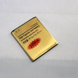 Wholesale S3 Mini Price - Factory Price High Capacity 2450mah gold battery Li-ion Battery Batteria for Samsung Galaxy S3 mini I8190 15 country Epacket Free Shipping