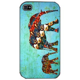 """Wholesale Tribal Cases Design - New Aztec Tribal Elephant Snap customized fashion design for iphone 6 case 4.7"""" plus 5.5"""" for iphone 4 4s 5 5s 5c Back cover case 016"""