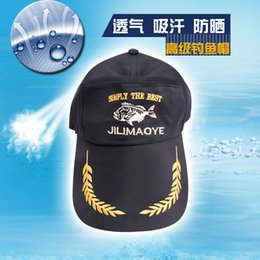 Wholesale Breathable Fishing Hats - Wholesale-Outdoor professional fishing cap winter sun-shading sun hat anti-uv breathable cap fish fishing tackle