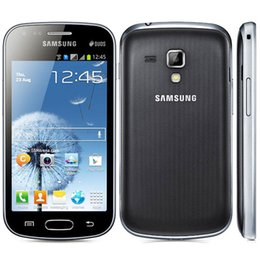 Wholesale Duos S7562 - Unlocked Original Samsung Galaxy S duos S7562 Dual sim cards 3G Wifi Bluetooth Gps 4.0'' 5MP Camera Refurbished Mobile phone