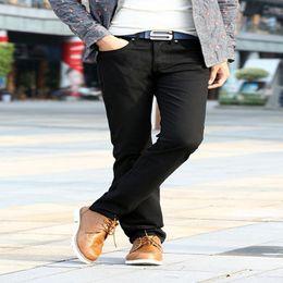 Wholesale Korean Casual Trousers For Men - 6 Colors Korean Straight Dress Pants Skinny Men Casual Pants 2015 Spring and Summer Pants Trousers for Men Cotton Free Shipping FG1511