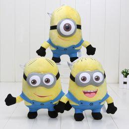 Wholesale Despicable 7inch - Despicable Me 2 7inch Despicable Me Minion Plush Doll toys 3D eyes