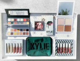Wholesale Holiday Candy Boxes - 2017 Christmas Gift new makeup set Kylie CANDY jenner Holiday Collection Cosmetics with eyeshadow palettes, lipsticks in 1 box free shipping