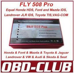 Opel gm tis on-line-Orignal FLY508 forhonda HDS e ID allmazda JLR IDS alltoyota TIS scanner Completo