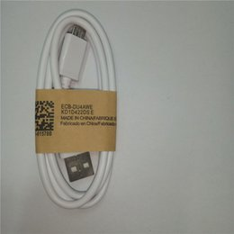 Wholesale Usb Cable Lengths - Micro USB V8 Cable 1m length 2.0A fast chargering for Samsung Nokia Android Smart phones