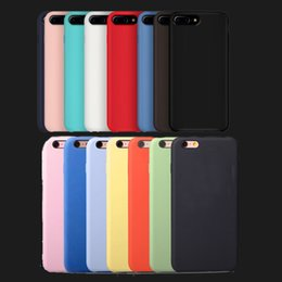 Wholesale Iphone Case Official - OEM Have LOGO Official Silicone Case For iphone 8 Plus For Apple liquid phone Cover For iphone X 6S 6 Plus Retail Box