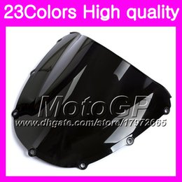 Wholesale honda cbr 954 rr - 23Colors Windscreen For HONDA CBR954RR 02 03 CBR900RR CBR 954 RR 900RR CBR954 RR 2002 2003 Chrome Black GPear Smoke Windshield