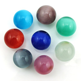 Wholesale Eight Ball - Fashion Angel Ball Eight Color 16mm Opal Balls Beads DIY Baby Chime Cage Necklace Accessories Jewelry
