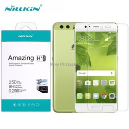 """Wholesale Nillkin Screen Protector Wholesale - Wholesale- Huawei P10 Plus Screen Protector Nillkin Amazing H+PRO 9H 2.5D 0.2mm Tempered Glass For Huawei P10 Plus 5.5"""" Phone"""