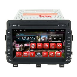 Wholesale Dvd For Kia Optima - Android 4.4 Capacitive Screen Car dvd GPS for Kia Optima K5 2014 With Radio,RDS,Wifi+3G host+Bluetooth+RDS+Microphone+Dual Zone